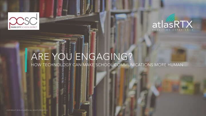 Are you engaging? How To Communicate With Parents & Students In 2018