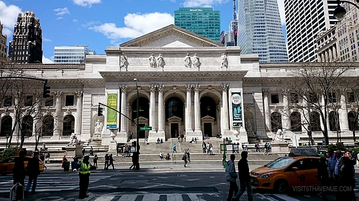 The New York Public Library, 476 Fifth Avenue.