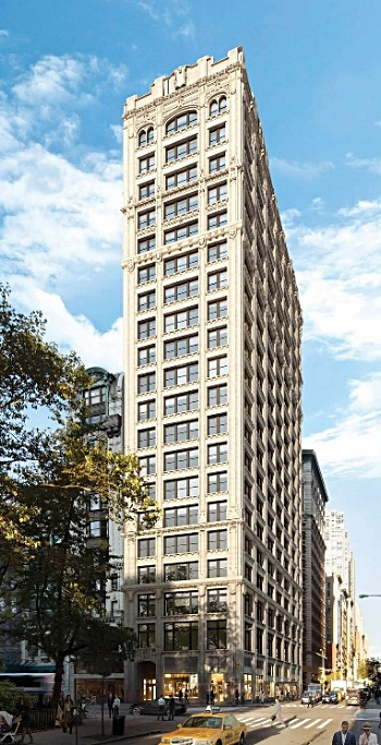 212 Fifth Avenue, Manhattan, rendering by Helpern Architects.