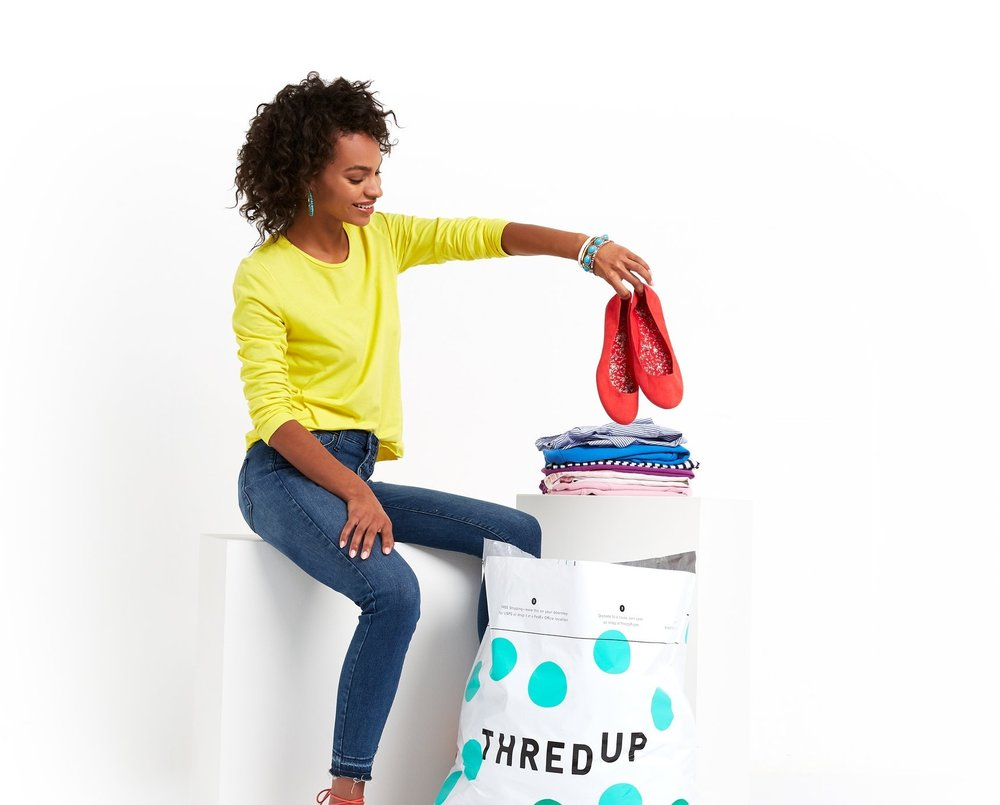 Get a taste of thredUP & pick up a Clean Out Kit at any one of our pop-up locations. -