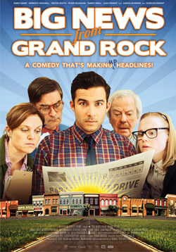 Big News From Grand Rock - Leonard Crane is the editor of a small town newspaper facing bankruptcy. In an attempt to attract advertisers and readership Leonard begins  inventing stories based on old movies. The plan pays off until one of the stories attracts the attention of Lucy, an ambitious reporter from the big city.Purchase a copy of the DVD or BlueRay here.Buy/Rent it Now on iTunes.