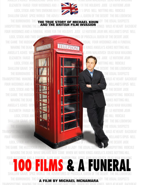 100 Films & a Funeral - Capturing a seminal period in modern independent filmmaking as it chronicles the rise and fall of PolyGram Filmed Entertainment (PFE), the company that made and distributed over 100 feature films that collected 14 Academy Awards. Some of these hits include Four Weddings and a Funeral, Notting Hill, Dead Man Walking, The Usual Suspects, and Priscilla, Queen of the Desert.Buy DVD  here.