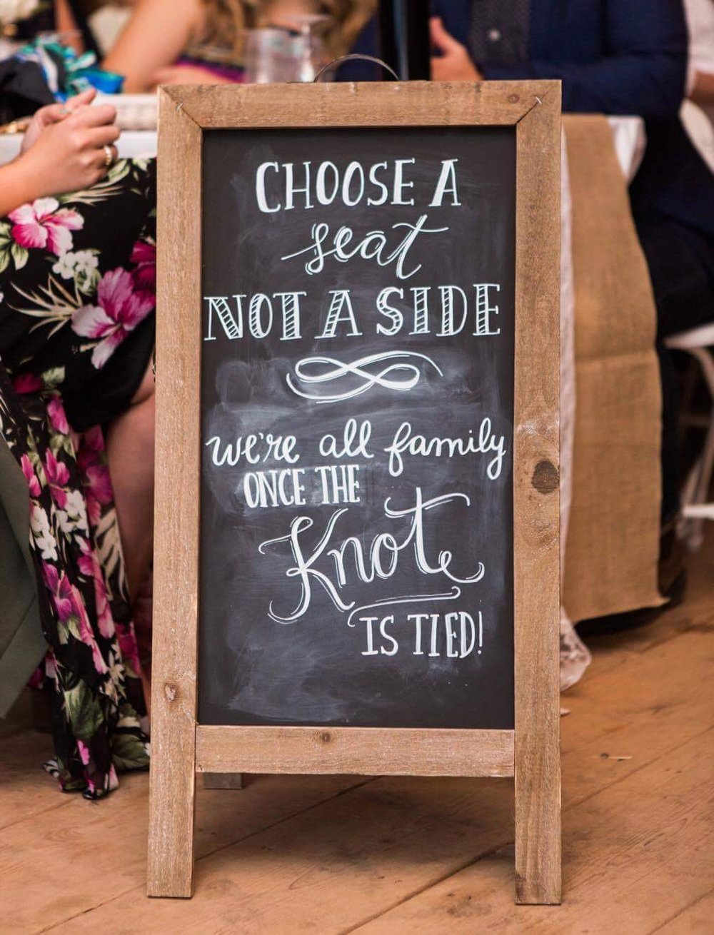Double Sided A-Frame Chalkboard20.00Photography: Hind Hart Studios -