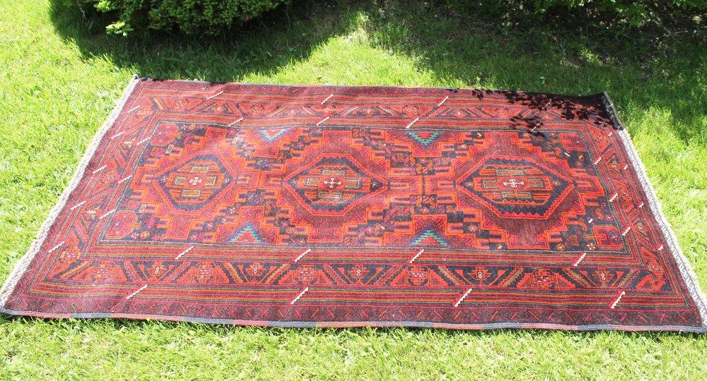 Afghan Rug75.005' W7' L -