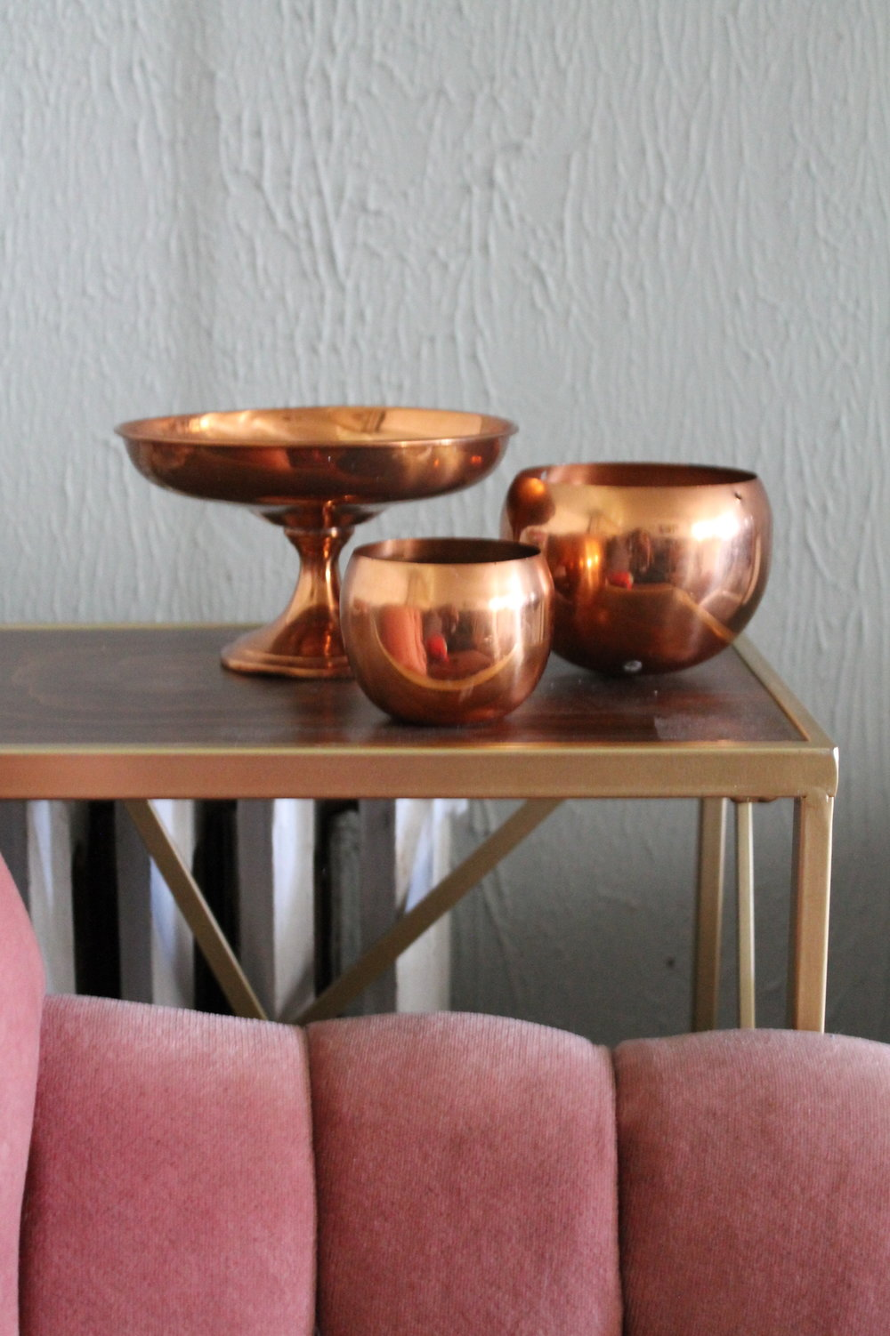 Copper Vases2.00 each5 QtyVarious Sizes -