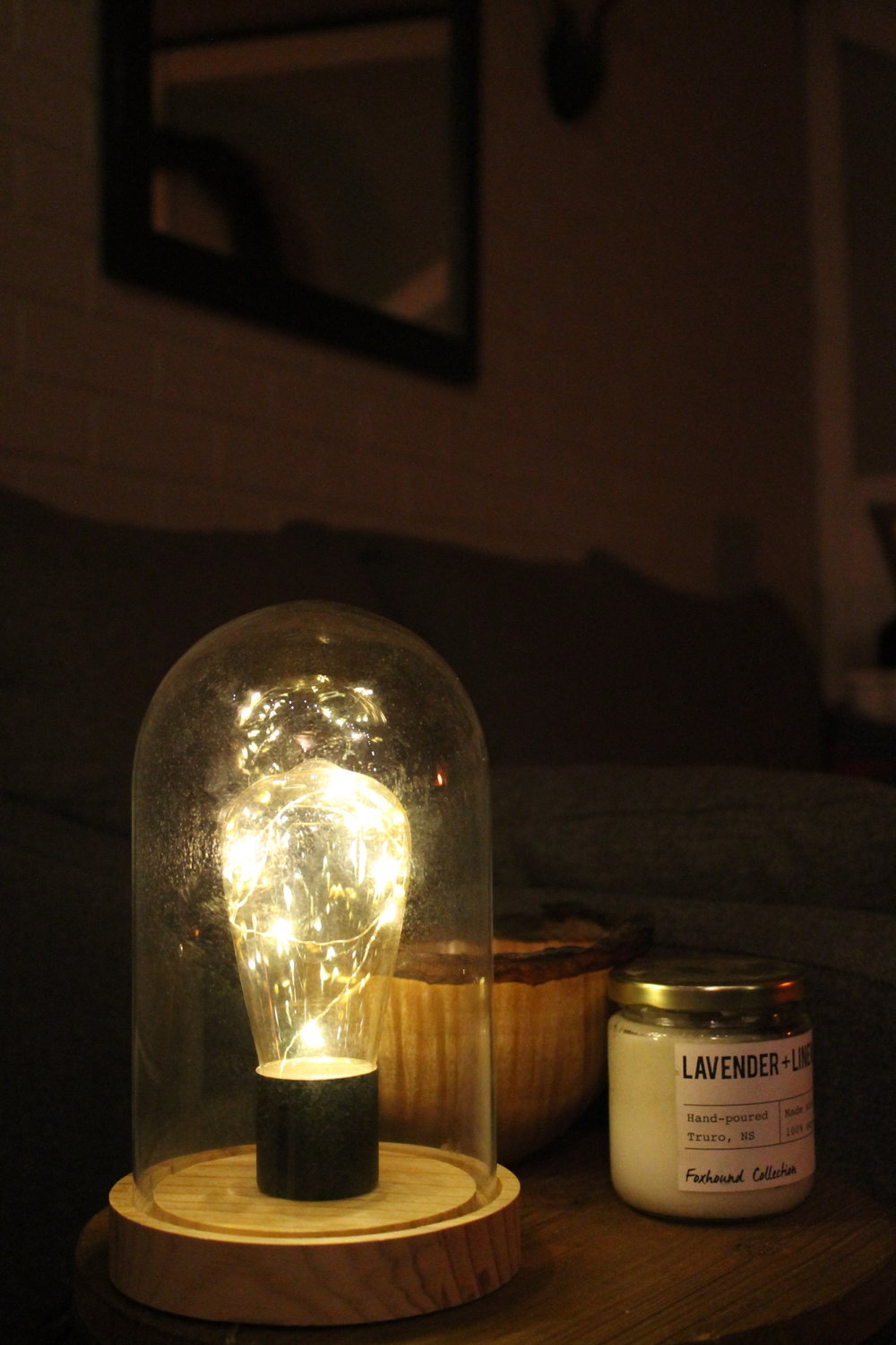 Twinkle Light bulb with Glass DomeBattery Operated10.00 -