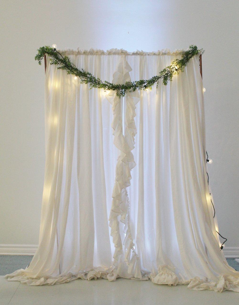 Priscilla Curtains15.00 eachApprox 8.1' W7' LQty: 2 -