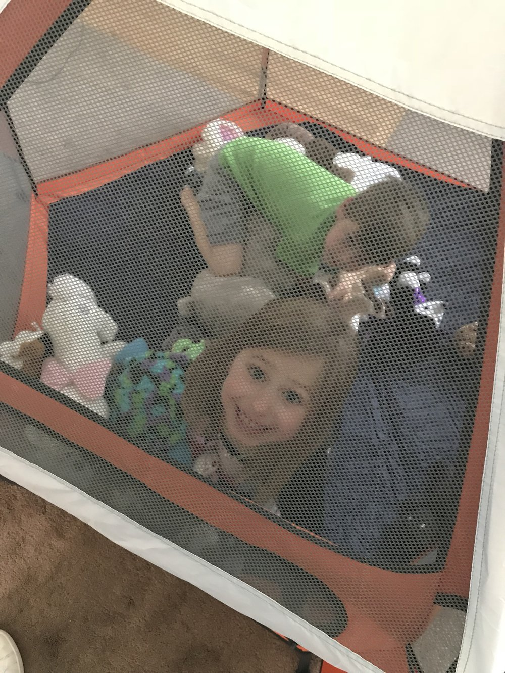 My kids immediately hopped in the Pop N Go — stuffed animals and all — as soon as I got it out of the box.