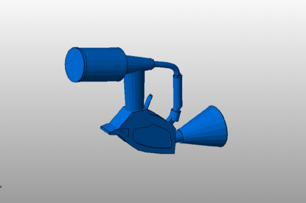 Splat gun 3D model by Atlantica college's students