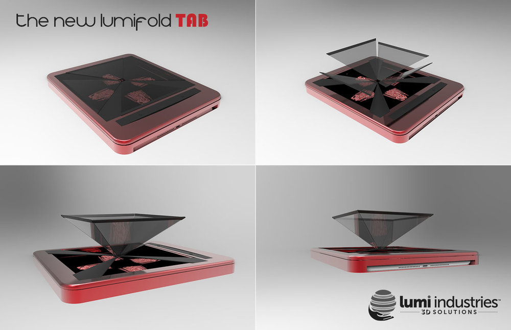 The New Lumifold tablet version, renderings 2015