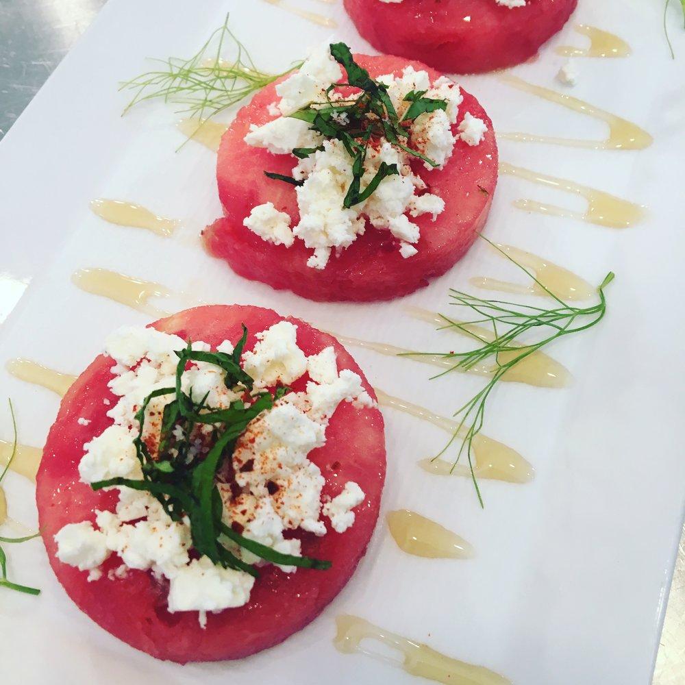 Watermelon - Feta - Mint - Fennel