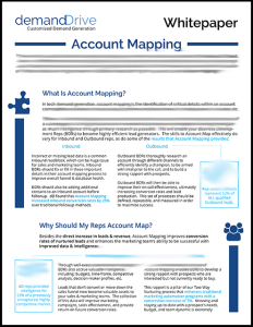 Account Mapping: Maximizing Demand Generation Conversions