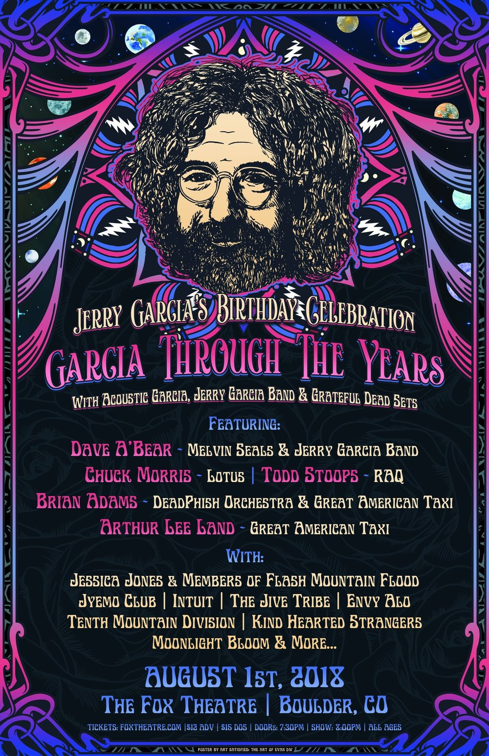 Garcia Through The Years at the Fox Theater