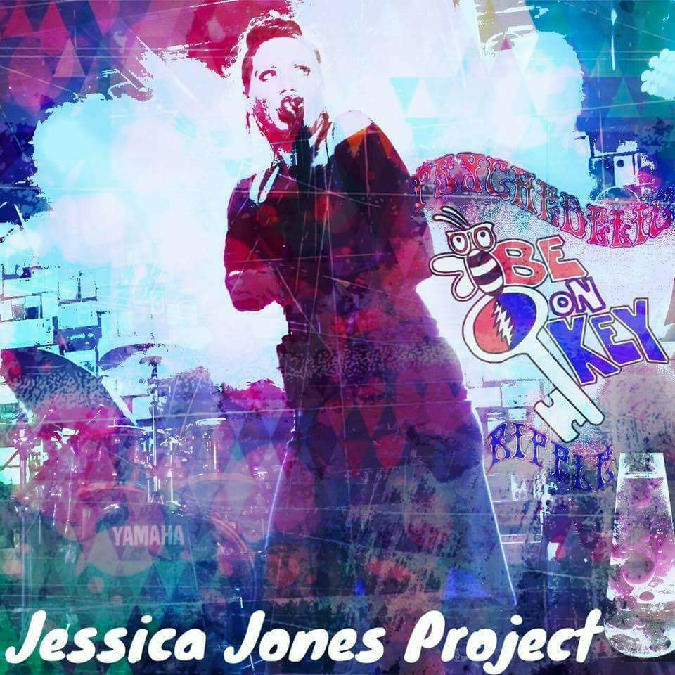 """Figure Me Out"" Jessica Jones Project at Be on Key Psychedelic Ripple 2.23.17"