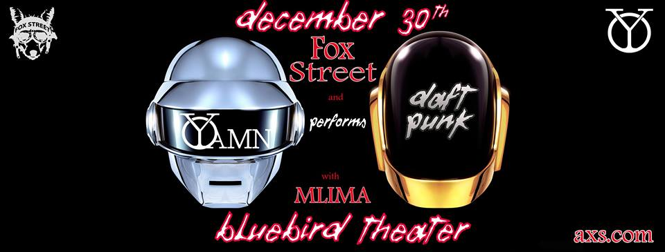 Yamn (h1:53m) with Fox Street at the Bluebird Theater 12.30.16
