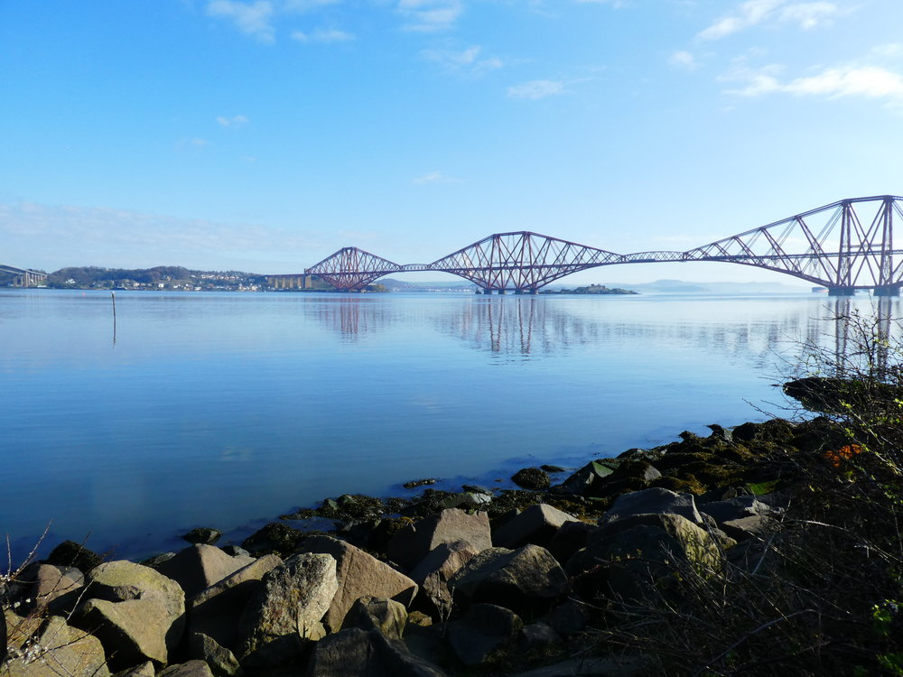THE RAIL BRIDGE TO NORTH QUEENSFERRY AND BEYOND