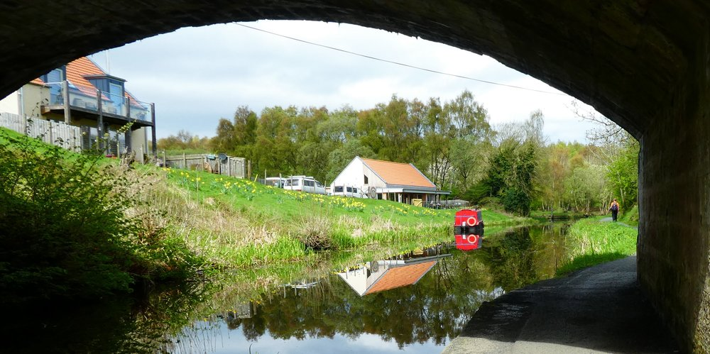 The Bridge under the B825