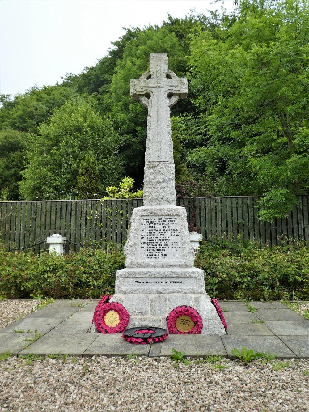 War Memorial, Twechar