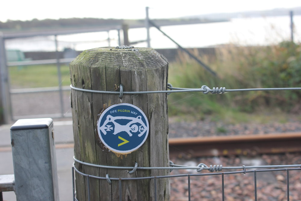 FPW Patch at the railway crossing after Culross