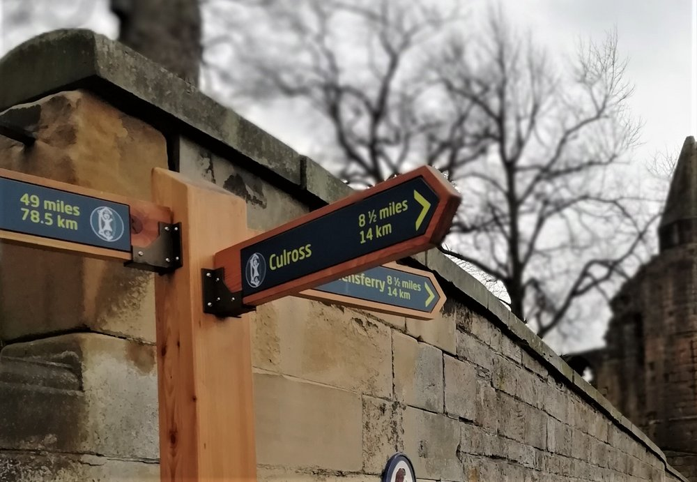 14km down - St Andrews 78.5 km