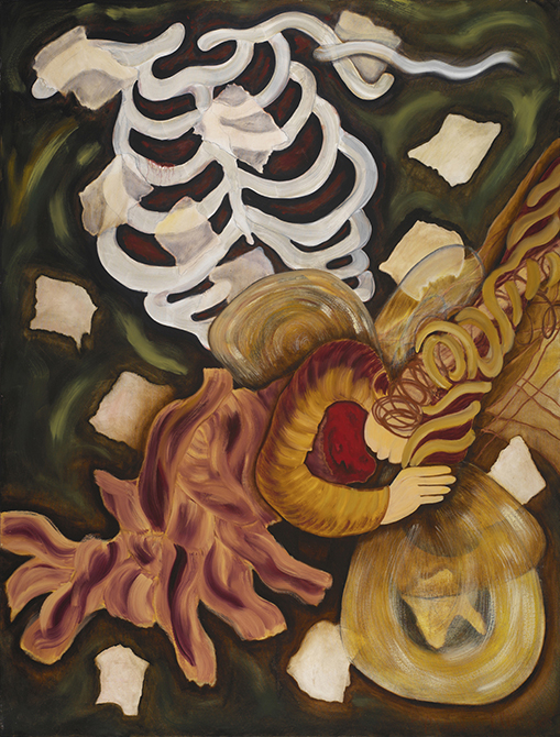 "Dreamers#3    2005    oils/canvas    68 x 52"""