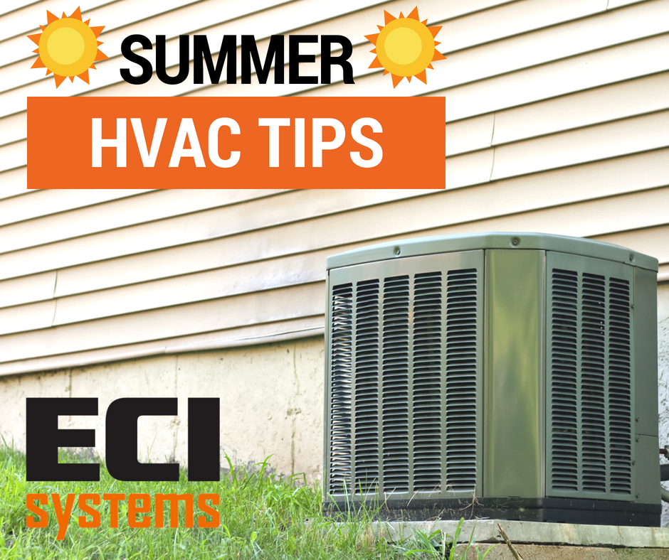 Are you having issues with your HVAC system? - With summer officially here, the weather is sweltering hot and often uncomfortable. It is important to ensure your system is running smoothly, and there are specific measures to take to keep your house as cool as it can be for the summer. ECI Systems HVAC Technician, Bob Armitage, elaborates on simple steps you can take at home to keep everything in check.