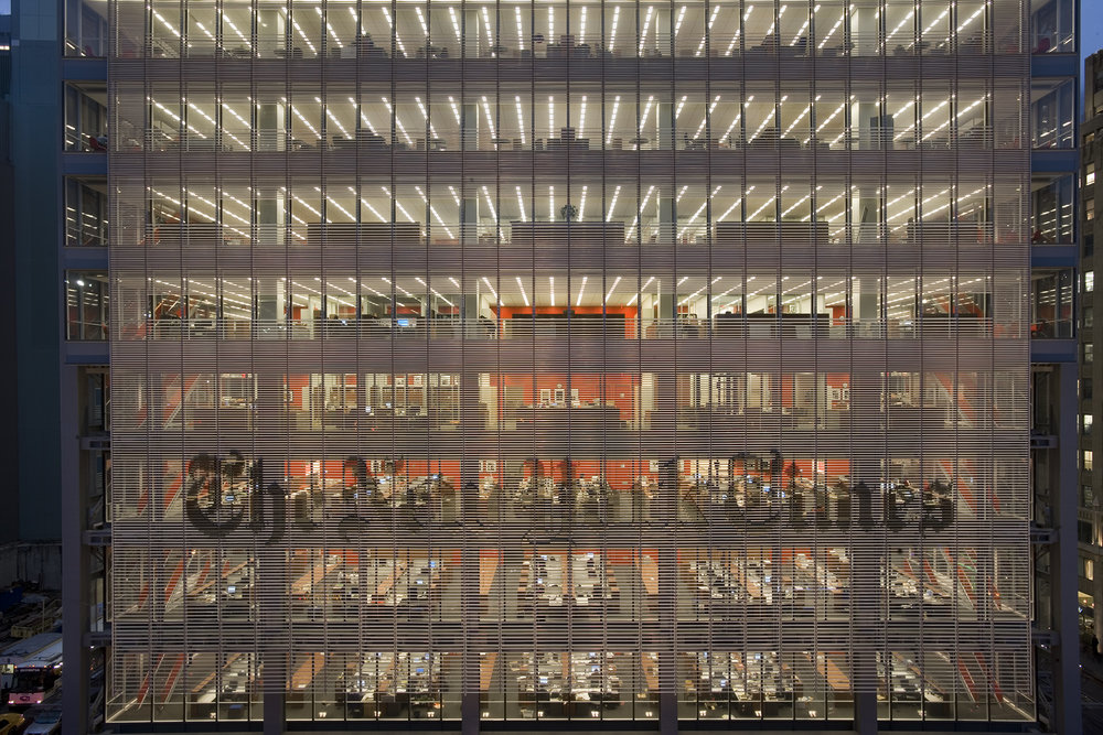 renzo piano building workshop | new york times | new york usa