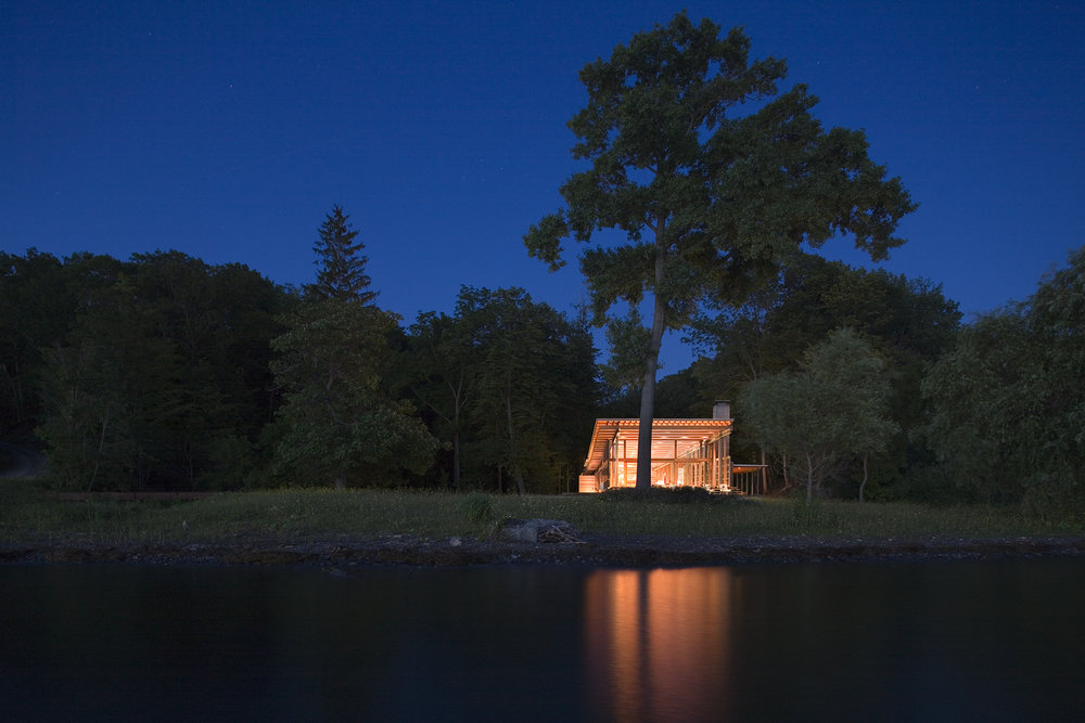 bohlin cywinski jackson I combs point residence | finger lakes usa