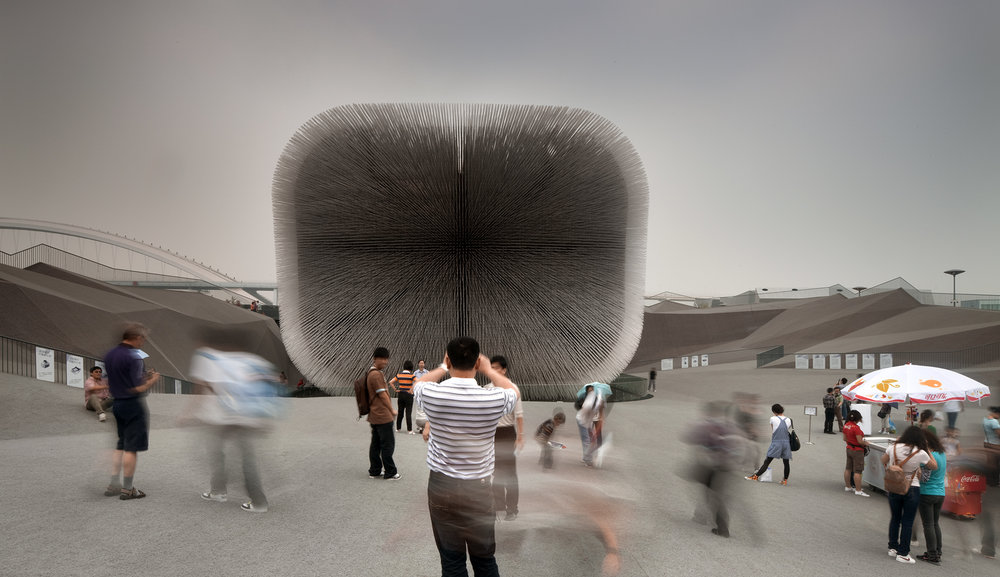 heatherwick studio | uk pavilion | shanghai world expo china
