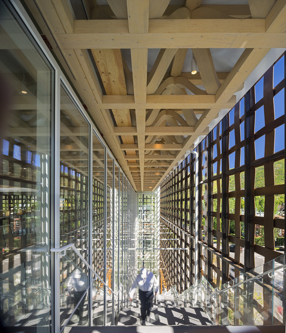 shigeru ban architects | aspen art museum | aspen usa