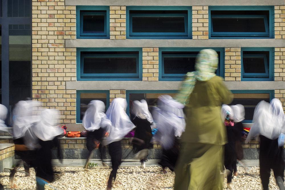 robert hull + university of washington | gohar khatoon school for girls | mazar e sharif afghanistan
