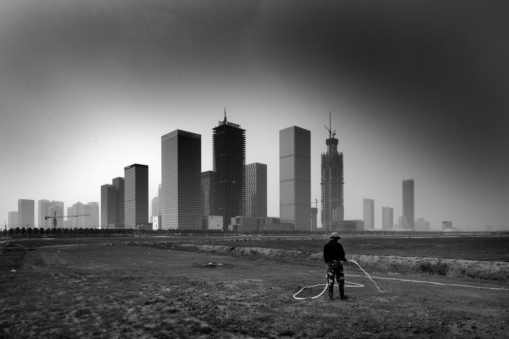 dystopia in china | explorations in a marginal landscape | yujiapu new city