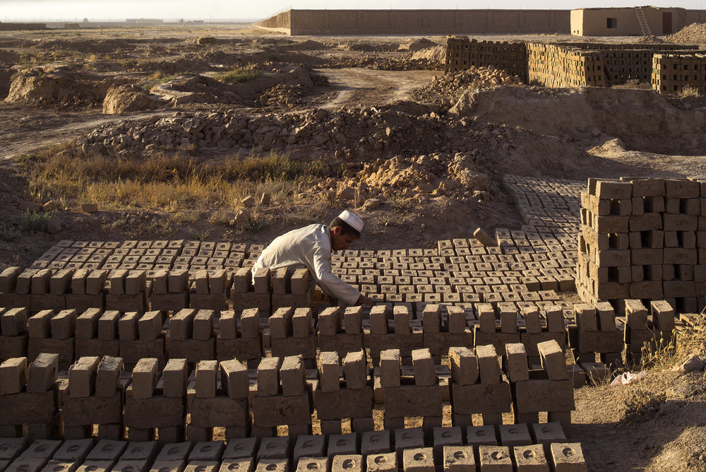 project 072 traditional brick-making factory | mazar e sharif afghanistan