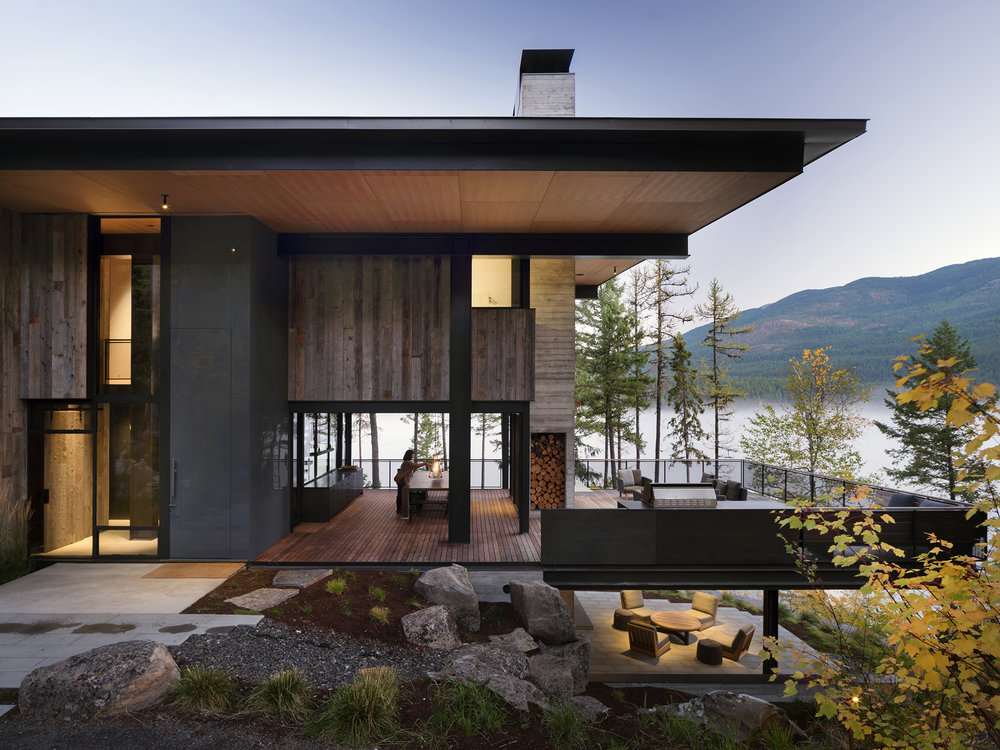 olson kundig | johnson residence | whitefish usa
