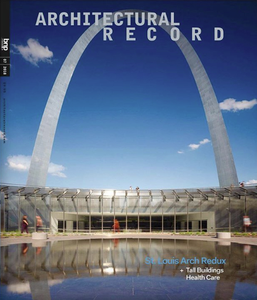 Architectural Record July 2018 Cooper Robertson   Gateway Arch Museum   St Louis USA