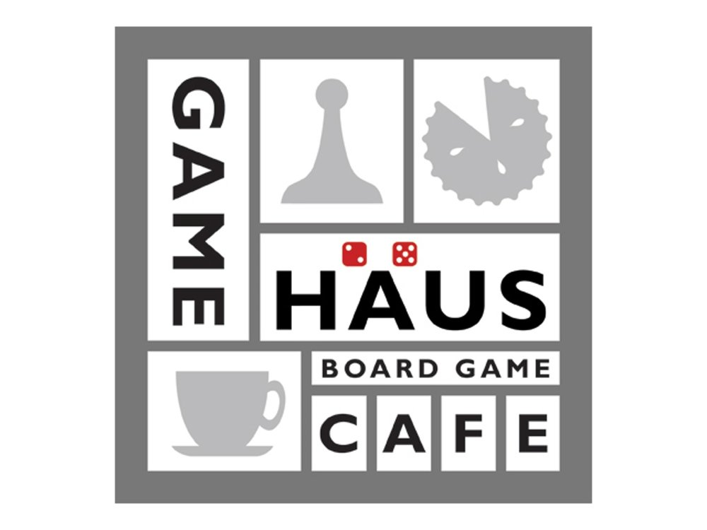 game haus board game cafe logo