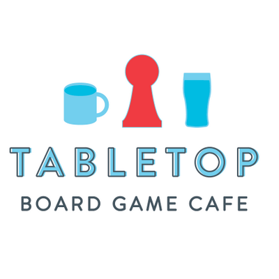 tabletop board game cafe logo