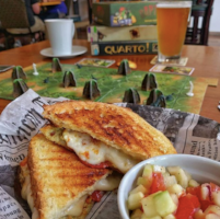 tabletop board game cafe grilled cheese sandwich and photosynthesis game