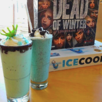 tabletop board game cafe milkshakes with dead of winter board game and ice cool board game