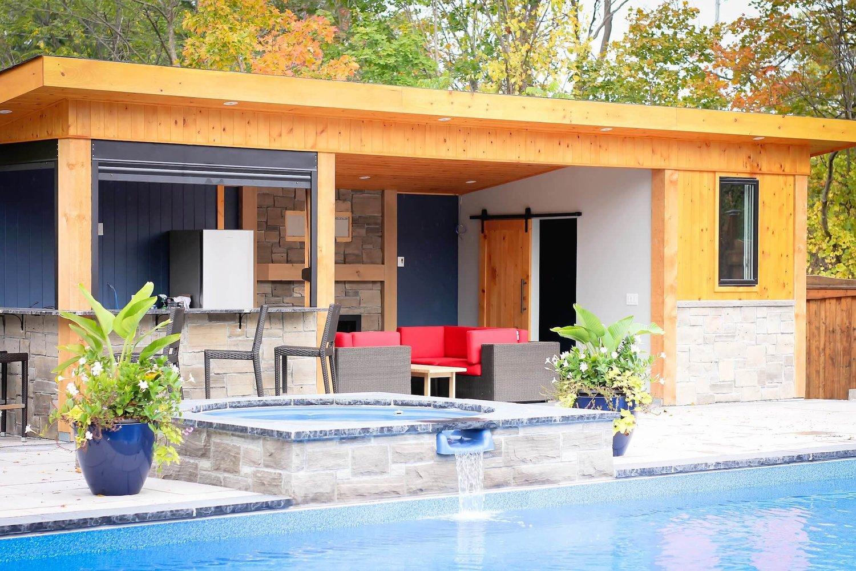 Pool Cabana Retreat — MNH Construction Inc.