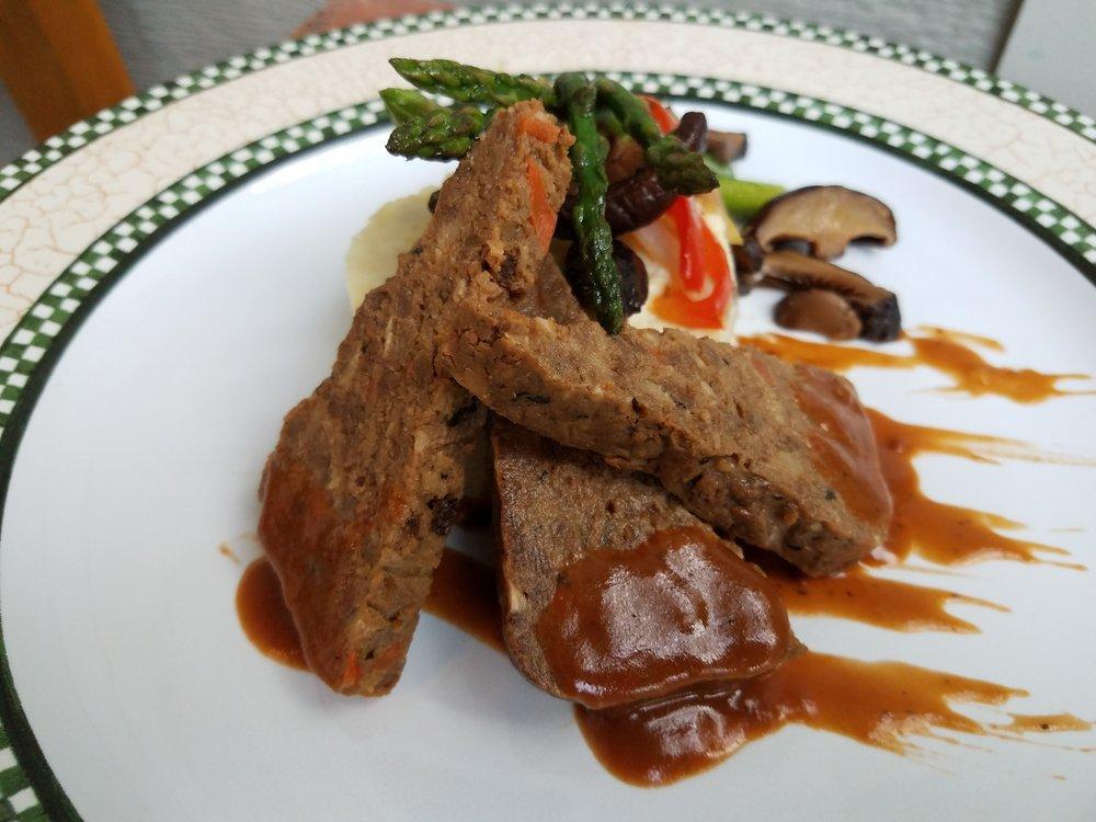 Vegan American-Style Meatloaf -