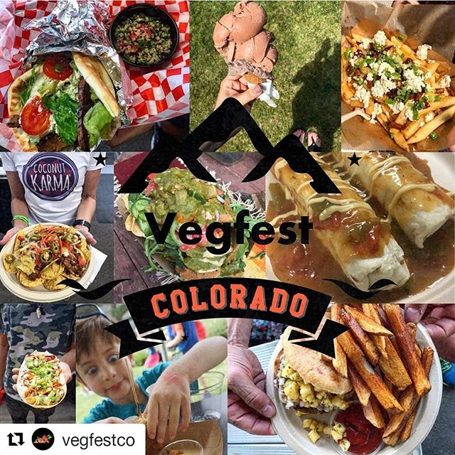 So excited to demo products and meet other like minded people at this year's #vegfestcolorado! Be sure to stop by our booth and say hello!  #Repost @vegfestco ・・・ We are 4 days away!!!!! Did you know tickets can still be purchased at the door! We will also have a swag bag give away both days for the first 150 paid adults!!!! Come early!