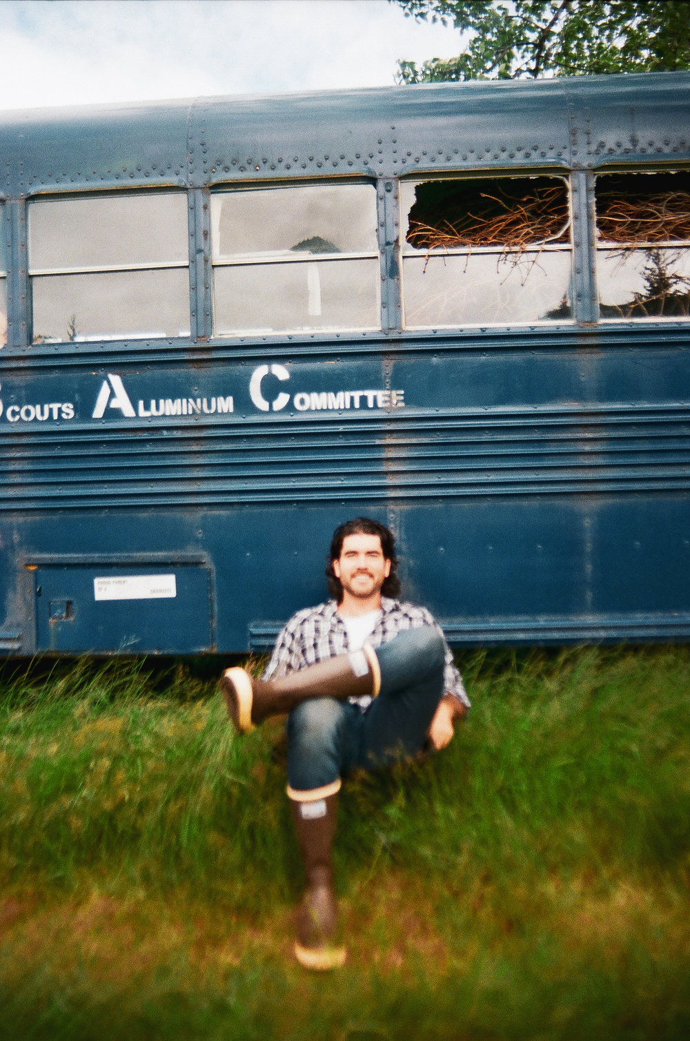 Doing my best Christopher McCandless impression- Into The Wild