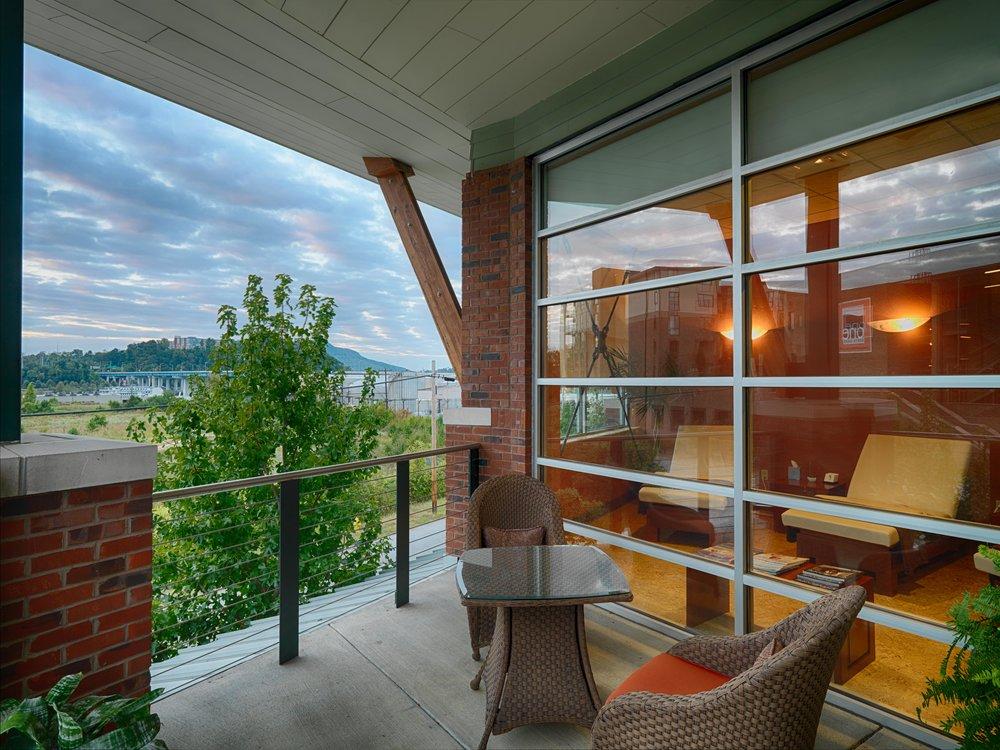 Relaxation Room Balcony