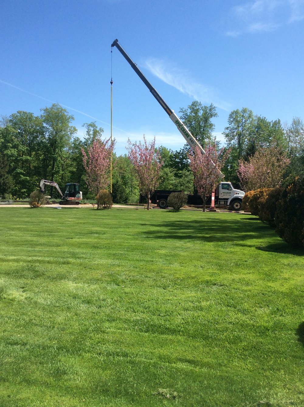 Lawn care and aeration company in Hudson, Ohio