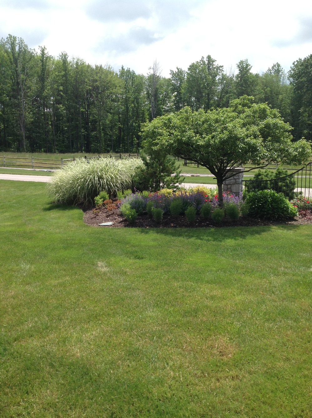 Hudson, OH top lawn care certified by Unilock