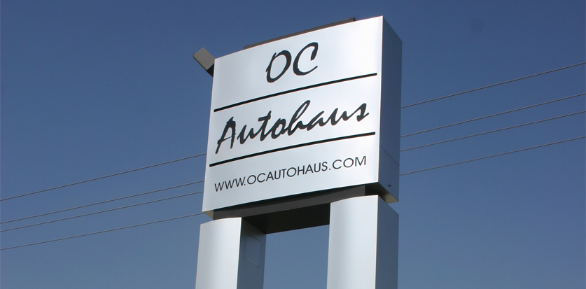 State of the art monuments and pole signs to make your business stand out.