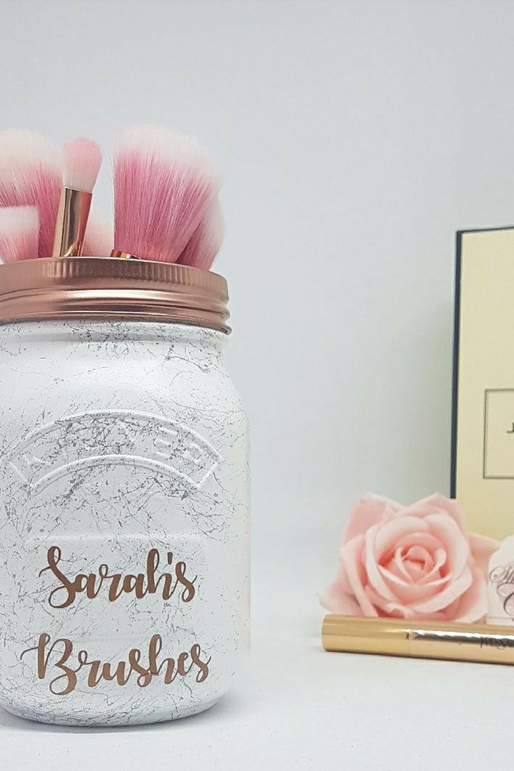 Paint Brush Holder Personalized Bridesmaid Gift