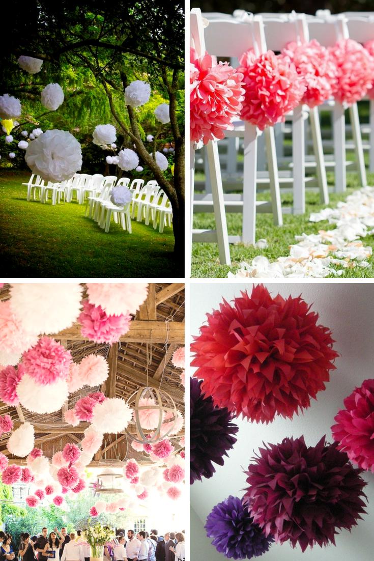 Burgundy Wedding Decorations - $18
