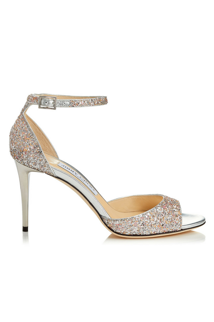 Sparkly Bridal Sandals - $628